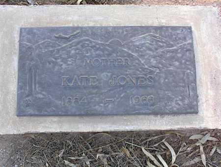JONES, KATE - Pinal County, Arizona | KATE JONES - Arizona Gravestone Photos