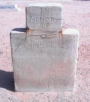 JONES, MIMIE - Pinal County, Arizona | MIMIE JONES - Arizona Gravestone Photos