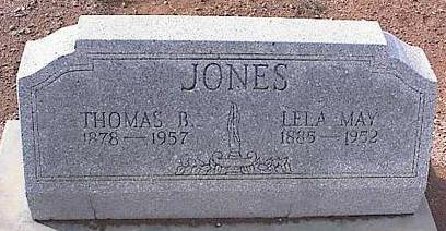 JONES, THOMAS B. - Pinal County, Arizona | THOMAS B. JONES - Arizona Gravestone Photos