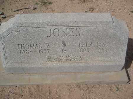 JONES, LELA MAY - Pinal County, Arizona   LELA MAY JONES - Arizona Gravestone Photos