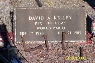 KELLEY, DAVID A. - Pinal County, Arizona   DAVID A. KELLEY - Arizona Gravestone Photos
