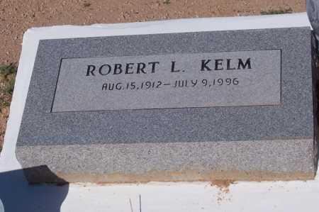 KELM, ROBERT L. - Pinal County, Arizona   ROBERT L. KELM - Arizona Gravestone Photos