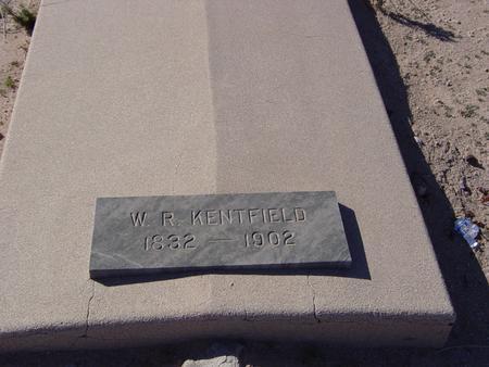 KENTFIELD, W.R. - Pinal County, Arizona | W.R. KENTFIELD - Arizona Gravestone Photos