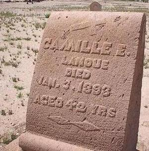 LANOUE, CAMILLE E. - Pinal County, Arizona   CAMILLE E. LANOUE - Arizona Gravestone Photos