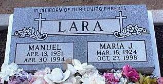 LARA, MANUEL - Pinal County, Arizona | MANUEL LARA - Arizona Gravestone Photos