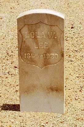 WEAVER LEE, LOLA - Pinal County, Arizona | LOLA WEAVER LEE - Arizona Gravestone Photos