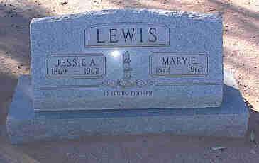 LEWIS, MARY E. - Pinal County, Arizona   MARY E. LEWIS - Arizona Gravestone Photos