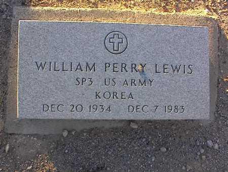 LEWIS, WILLIAM PERRY - Pinal County, Arizona   WILLIAM PERRY LEWIS - Arizona Gravestone Photos