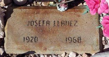 LLANEZ, JOSEFA - Pinal County, Arizona   JOSEFA LLANEZ - Arizona Gravestone Photos