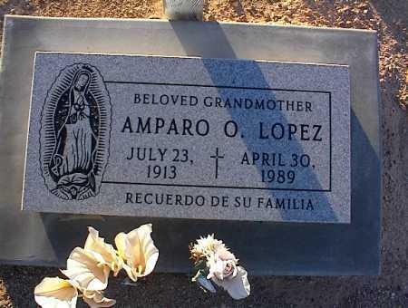 LOPEZ, AMPARO O. - Pinal County, Arizona   AMPARO O. LOPEZ - Arizona Gravestone Photos