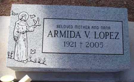 LOPEZ, ARMIDA V. - Pinal County, Arizona | ARMIDA V. LOPEZ - Arizona Gravestone Photos