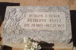 LOPEZ, FELIBERTO - Pinal County, Arizona   FELIBERTO LOPEZ - Arizona Gravestone Photos