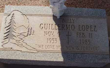 """LOPEZ, GUILLERMO """"BILLY"""" - Pinal County, Arizona 