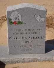 LOPEZ, MERCEDES - Pinal County, Arizona   MERCEDES LOPEZ - Arizona Gravestone Photos