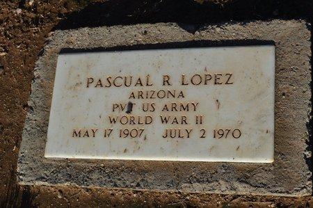 LOPEZ, PASCUAL R - Pinal County, Arizona   PASCUAL R LOPEZ - Arizona Gravestone Photos