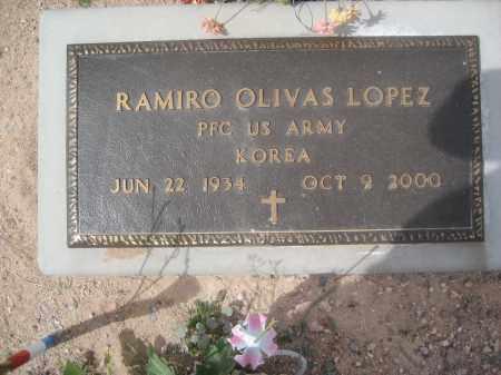 LOPEZ, RAMIRO OLIVAS - Pinal County, Arizona   RAMIRO OLIVAS LOPEZ - Arizona Gravestone Photos