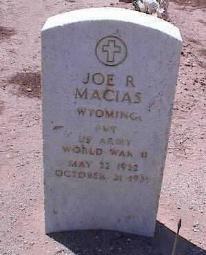 MACIAS, JOE R. - Pinal County, Arizona | JOE R. MACIAS - Arizona Gravestone Photos