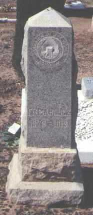MARQUEZ, F. B. - Pinal County, Arizona | F. B. MARQUEZ - Arizona Gravestone Photos