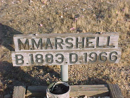 MARSHELL, MAYHEW F. - Pinal County, Arizona | MAYHEW F. MARSHELL - Arizona Gravestone Photos