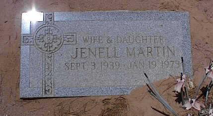 MARTIN, JENELL - Pinal County, Arizona   JENELL MARTIN - Arizona Gravestone Photos