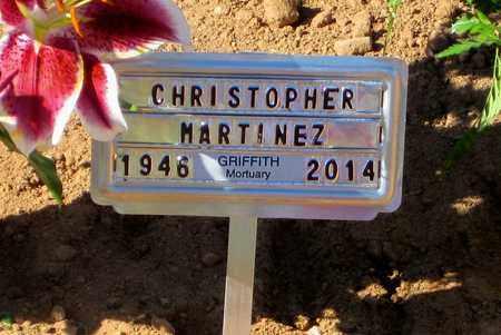 MARTINEZ, CHRISTOPHER R. - Pinal County, Arizona | CHRISTOPHER R. MARTINEZ - Arizona Gravestone Photos