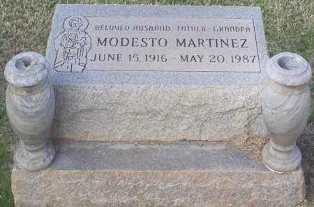 MARTINEZ, MODESTO - Pinal County, Arizona | MODESTO MARTINEZ - Arizona Gravestone Photos