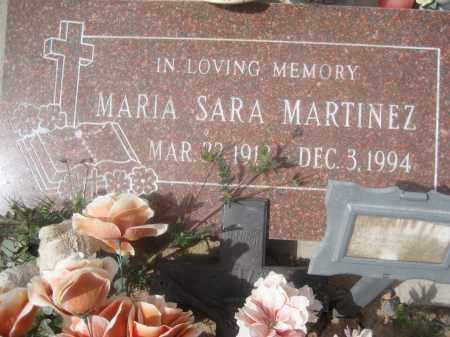 MARTINEZ, MARIA SARA - Pinal County, Arizona   MARIA SARA MARTINEZ - Arizona Gravestone Photos