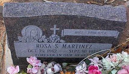 MARTINEZ, ROSA S. - Pinal County, Arizona   ROSA S. MARTINEZ - Arizona Gravestone Photos