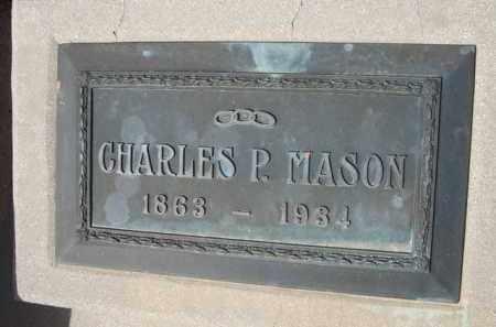 MASON, CHARLES P. - Pinal County, Arizona | CHARLES P. MASON - Arizona Gravestone Photos
