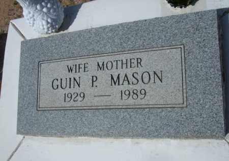 MASON, GUIN P. - Pinal County, Arizona | GUIN P. MASON - Arizona Gravestone Photos