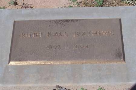 MATHEWS, RUTH - Pinal County, Arizona | RUTH MATHEWS - Arizona Gravestone Photos