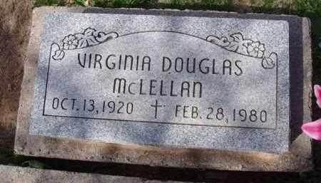 MCLELLAN, VIRGINIA - Pinal County, Arizona   VIRGINIA MCLELLAN - Arizona Gravestone Photos