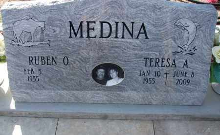 MEDINA, TERESA A. - Pinal County, Arizona   TERESA A. MEDINA - Arizona Gravestone Photos