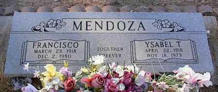 MENDOZA, YSABEL T. - Pinal County, Arizona | YSABEL T. MENDOZA - Arizona Gravestone Photos