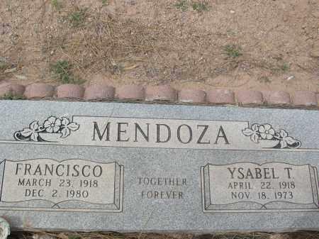MENDOZA, YSABEL T. - Pinal County, Arizona | YSABEL T. MENDOZA - Arizona Gravestone Photos