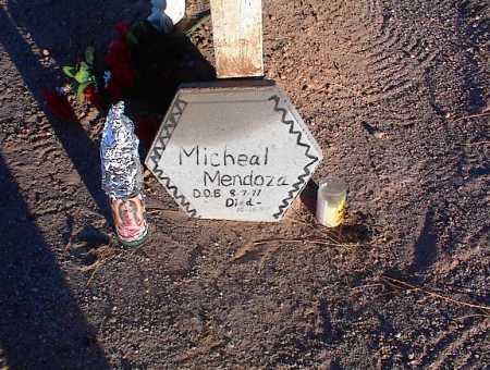 MENDOZA, MICHEAL - Pinal County, Arizona | MICHEAL MENDOZA - Arizona Gravestone Photos
