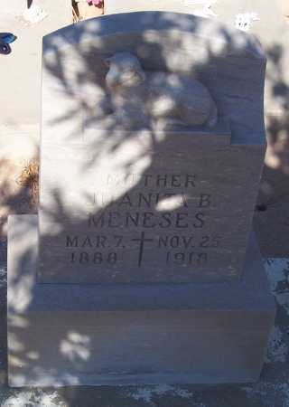 MENESES, JUANITA B. - Pinal County, Arizona   JUANITA B. MENESES - Arizona Gravestone Photos
