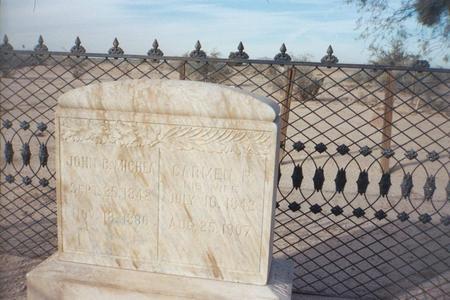 MICHEA, CARMEN - Pinal County, Arizona   CARMEN MICHEA - Arizona Gravestone Photos