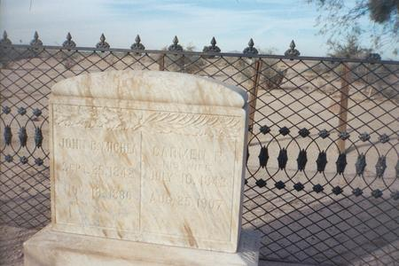 MICHEA, JOHN B. - Pinal County, Arizona   JOHN B. MICHEA - Arizona Gravestone Photos