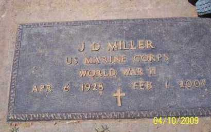 MILLER, J.D. - Pinal County, Arizona | J.D. MILLER - Arizona Gravestone Photos