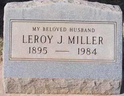 MILLER, LEROY - Pinal County, Arizona | LEROY MILLER - Arizona Gravestone Photos