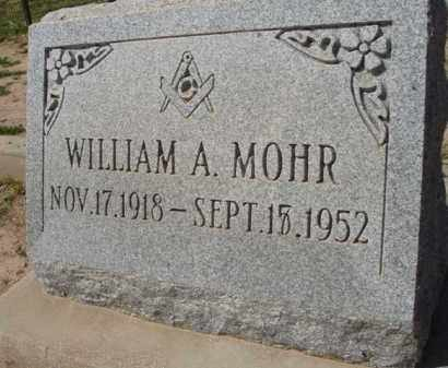 MOHR, WILLIAM A. - Pinal County, Arizona | WILLIAM A. MOHR - Arizona Gravestone Photos