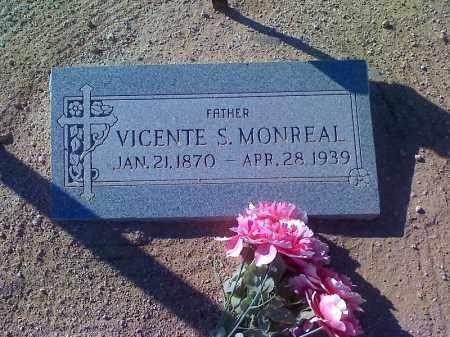 MONREAL, VICENTE S - Pinal County, Arizona | VICENTE S MONREAL - Arizona Gravestone Photos