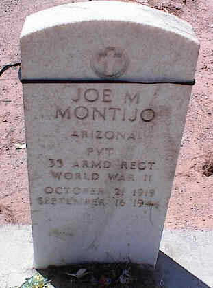 MONTIJO, JOE M. - Pinal County, Arizona | JOE M. MONTIJO - Arizona Gravestone Photos
