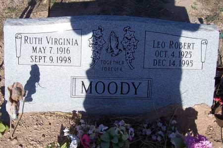 MOODY, RUTH VIRGINIA - Pinal County, Arizona | RUTH VIRGINIA MOODY - Arizona Gravestone Photos