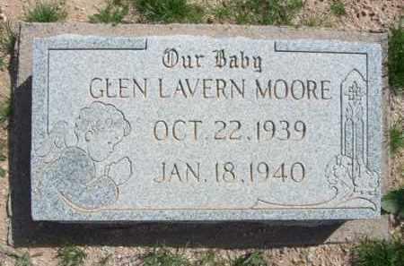 MOORE, GLEN LAVERN - Pinal County, Arizona   GLEN LAVERN MOORE - Arizona Gravestone Photos