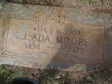 MOORE, J. ADA - Pinal County, Arizona   J. ADA MOORE - Arizona Gravestone Photos