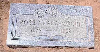MOORE, ROSE CLARA - Pinal County, Arizona | ROSE CLARA MOORE - Arizona Gravestone Photos
