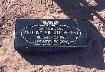MORENO, ANTHONY MICHAEL - Pinal County, Arizona   ANTHONY MICHAEL MORENO - Arizona Gravestone Photos