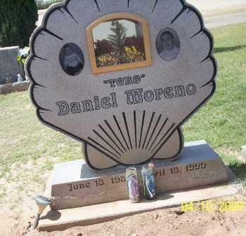 MORENO, DANIEL (TORO) - Pinal County, Arizona   DANIEL (TORO) MORENO - Arizona Gravestone Photos